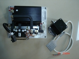 series ev controller for electric car
