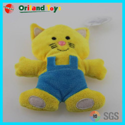 ICTI Audited plush yellow cat