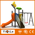 New Arrival outdoor swing sets combination kids swing and slide lovely child swing