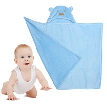 Soft Polyester Cotton Hooded Baby Towel