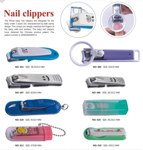 Amazon best seller stainless steel nail cutter nail clippers