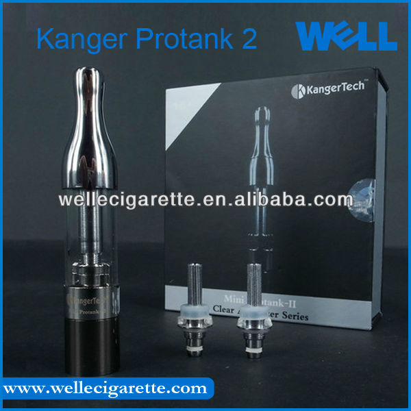 mini protank clearomizer Hot Selling Kanger Mini Protank 2 Atomizer Huge Vapor Glassatomizer With Changeable Coil, Kanger Protan