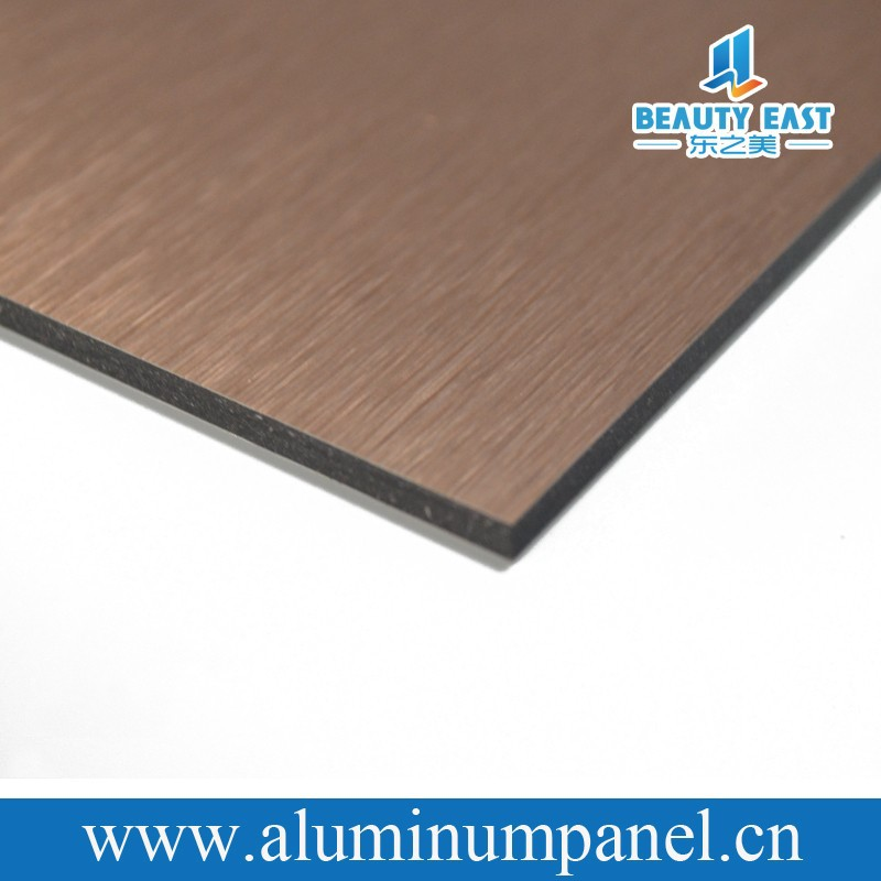 aluminium composite panel with acp color card in 2015 construction material list