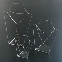 Acrylic Necklace Chain Display Stand with reliable quality and reasonable price