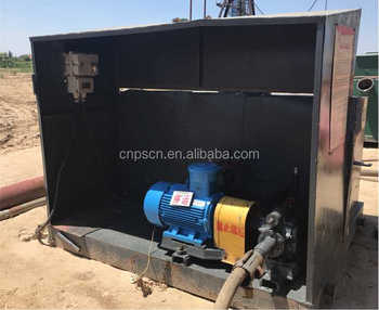Sewage pond of Steam injection boiler's accessory equipment for heavy oil