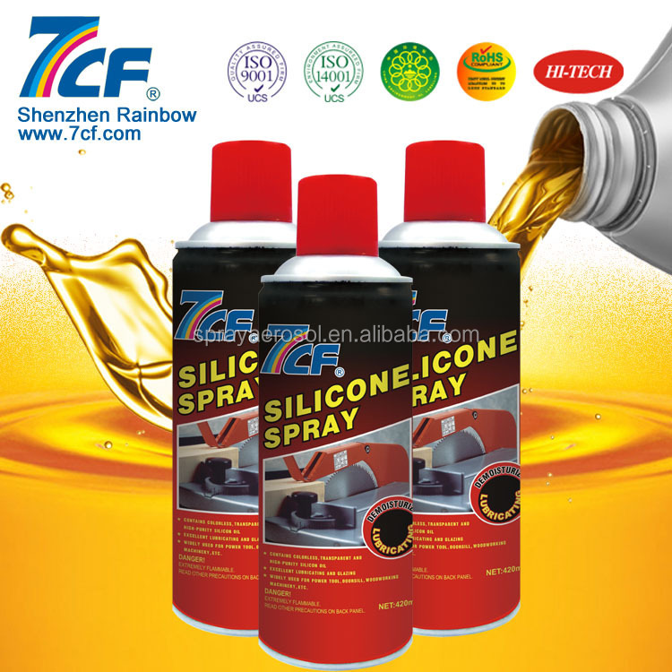 Rainbow 7CF Silicone Lubricant for Silicone