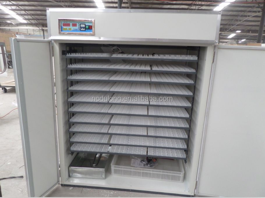 CE approved DLF-T17D 95% hatchability egg incubator