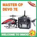 Walkera Master CP Flybarless 3D rc helicopter With DEVO 7E transmitter,battery ,charger RTF