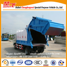 China garbage truck 10 tons used garbage compactor truck
