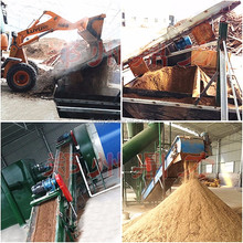 Customized Automatic Controlled Wood Flour Drying Equipment For Southeast Asia