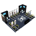Detian Display offer Portable Booth display for trade show equipment, island portable trade show display