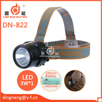 LED Lithium Battery High Power Rechargeable Headlight/ Headlamp