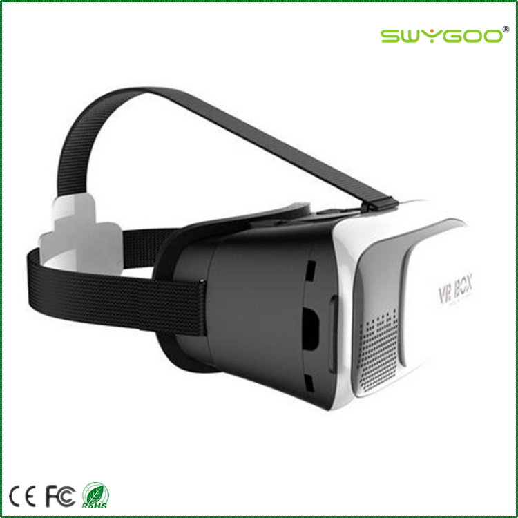custom google cardboard 3d video glasses virtual reality vr box for 3D movie/game