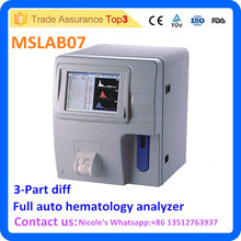MSLAB07i Human cheapest Full auto hematology analyzer for clinic and hospital