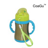 CoaGu new product 2017 vacuum insulated stainless steel favors baby bottle holder big nipple warmer car baby water bottle