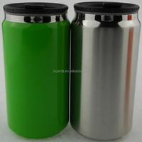hot new products for 2016 350ML double wall stainless steel silver eco can tumbler
