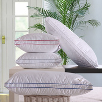 cheap wholesale Goose Feather & Goose Down Pillow for star hotel & home with vacuum packed