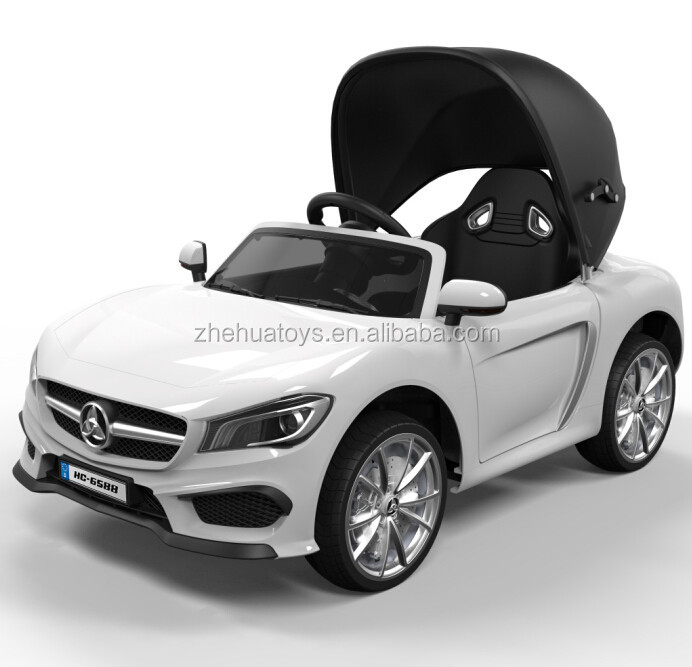 2016 new design kids ride on car electric ride on cars kids 12 volt with a canopy