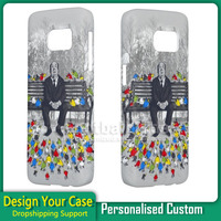 them birds 3D water transfer sublimation printing hot cover custom PC plastic phone back cover case for samsung galaxy s6 s7