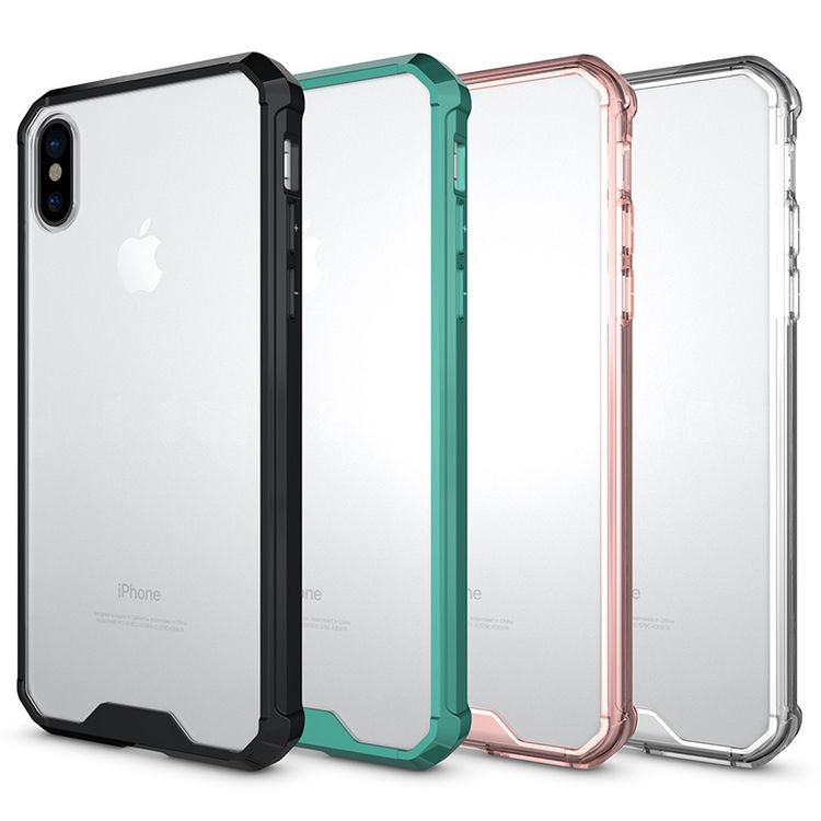Ultra Thin Transparent air hybrid mobile phone accessories, for iphone 8 case back cover