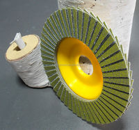 electroplated diamond flap wheel flap disc for stone marble concrete grinding
