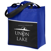trade show tote / foldable tote bag / shopping tote bag