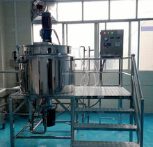 Automatic mixer blender stainless steel tank liquid soap making equipment