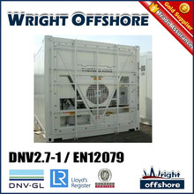 Good cost Reliable 20' Offshore reefer container, DNV2.7-1/En12079, DNV-GL,LR,