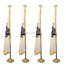 removable indoor floor free standing flag poles