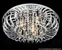 Contemporary indoor modern pendant crystal chandelier ceiling lamp in China