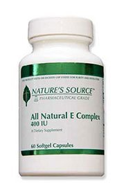 All-Natural E Complex Vitamin