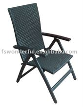 WF-817 outdoor rattan folding chair