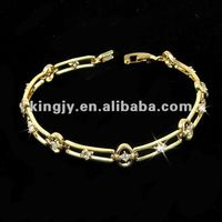 2013 wholesale new design gold bracelet hottest products on the market