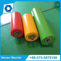gravity belt conveyor steel rollers