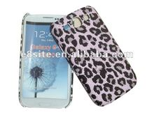 Leopard Fur PU Hard Case For SamSung i9300 Galaxy S3