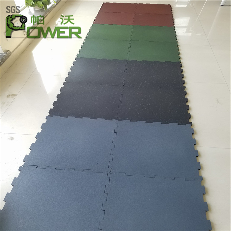 Interlocking Gym Rubber Flooring Tiles Interlocking Gym Rubber