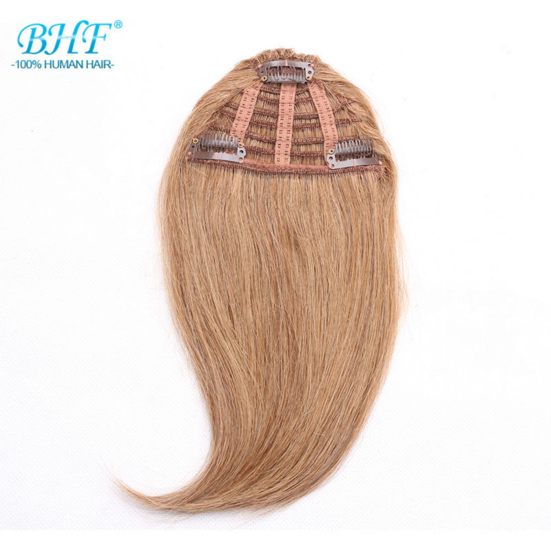 Unprocessed Wholesale indian remy hair wigs with bangs, 100 human hair bangs