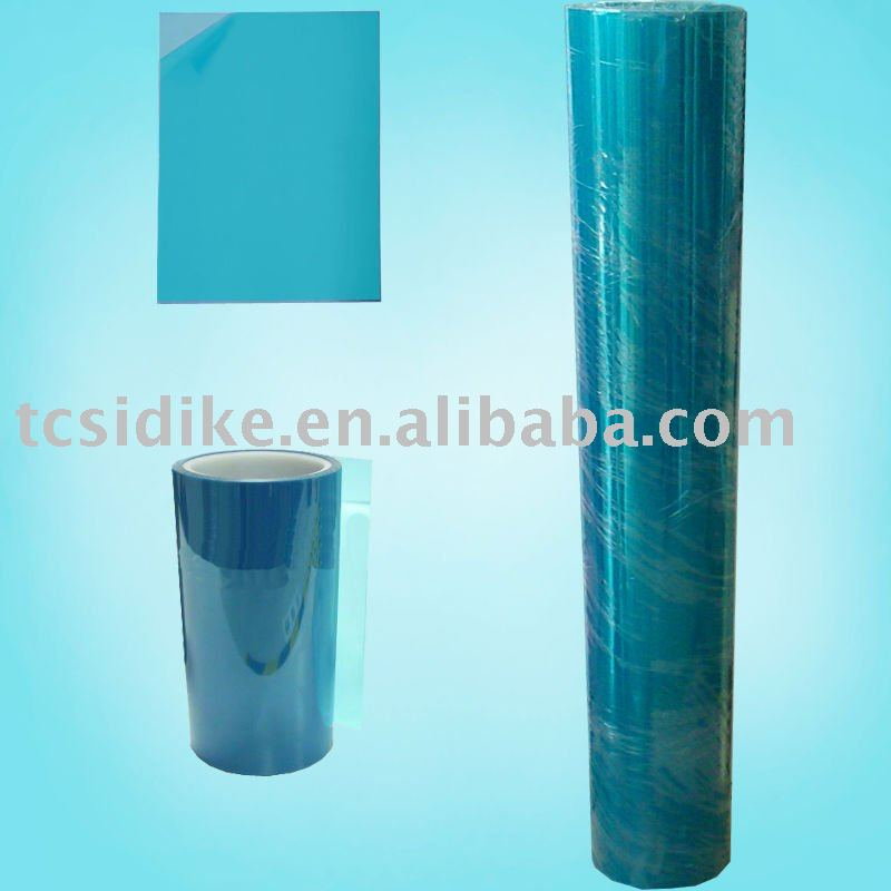 Blue PET protective film
