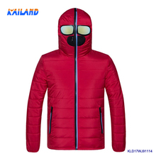 Kailande Hot Winter Jacket Light and Stylish Alien Youth Special with Glasses Warm Jacket for Men Couple clothing in Jacket