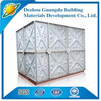 hot-sale galvanized water tank with great price galvanized water storage tank Dezhou Guangda