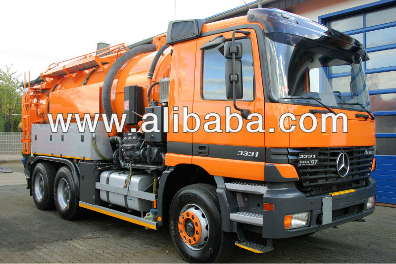 Mercedes Actros 2631 6x4 Vacuumtruck with High Pressure Water ADR