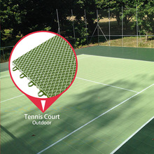 Good quality cheap professional 100% pp sports for table tennis court plastic flooring for outdoor