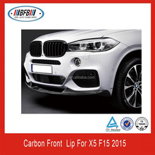 CARBON FRONT SPOILER FIT FOR BMW X5 F15 M PERFORMANCE FRONT BUMPER LIP SPOILER 2015