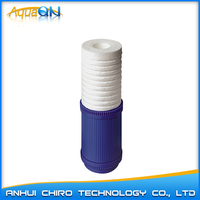 10 inch pp sediment+gac dual water filter cartridge