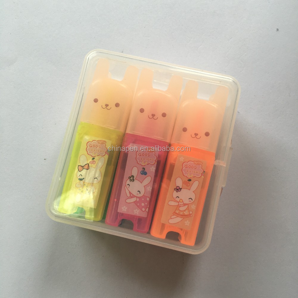Wholesale unique products colorful kawaii marker pen sets for kids