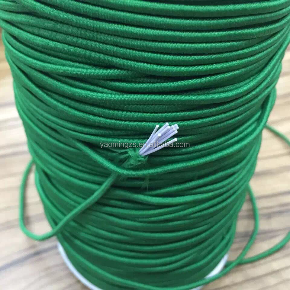 Good quantity colourful elastic rubber rope cord