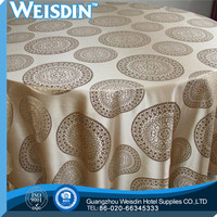 100% Bamboo Fiber china wholesale Jacqurd machine embroidery tablecloth