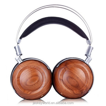 2016 best wooden headphone hifi sound headphone cool wireless headphones