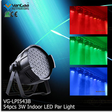 Factory Price DMX 54x3w LED RGBW Par Can LED Par 64 LED Par Light