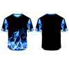 2017 hot design short sleeve dry fit man custom t shirt